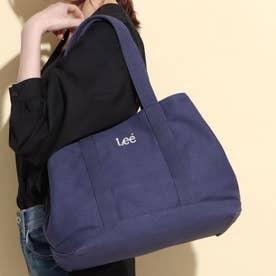 【Lee×SMIRNASLI】2WAYキャンバストートバッグ (ネイビー)