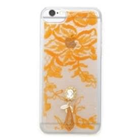 クリアレースiPhoneケース オレンジ