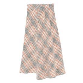 アシメントリーデザインスカート (ORG)