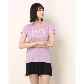 レディース フィットネス 半袖Tシャツ W ESSENTIAL I.D. TEE SNW004783C (ピンク)