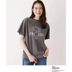 SOUP×PEANUTSコラボTシャツ (ダークグレー)