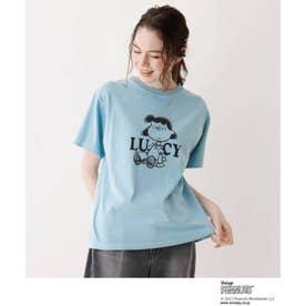 SOUP×PEANUTSコラボTシャツ (ブルー)