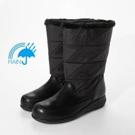 雨の日も安心♪本格的レイン仕様 ハーフブーツ SSL1202 (ブラック)