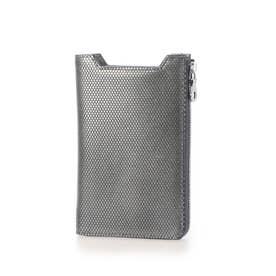 レザースマホ財布 (グレー)