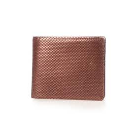 レザー2つ折り財布 (ブロンズ)