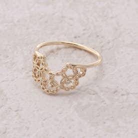 【K10】ヘルシンキ・ダイヤモンドリング (ゴールド)