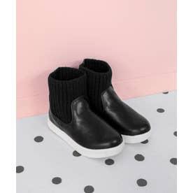 SOROTTO【ママとお揃い】ニットスニーカーブーツ (KIDS) (ブラック)