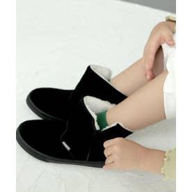 Malamaショート丈ブーツ (KIDS) (ブラック)