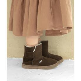 Malamaショート丈ブーツ (KIDS)(ブラウン)