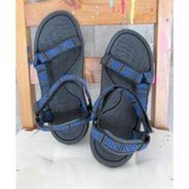 【親子お揃い】柄タイプベルクロスポーツサンダル (MENS) (BLUE)