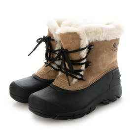 SOREL/SNOW ANGEL レディース ブーツ 防水 雨雪対応 NL3482 スノーブーツ (キャメル)