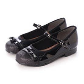 ジュニア (キッズ・子供) 短靴 前リボンコンビ素材フォーマルシューズ KTU2360 8021