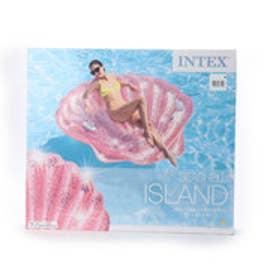 マリン フロートマット PINK SEASHELL ISLAND 57257