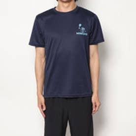 テニス 半袖Tシャツ ミニオンズプレイテニスドライTシャツ 22833825 (ネイビー)