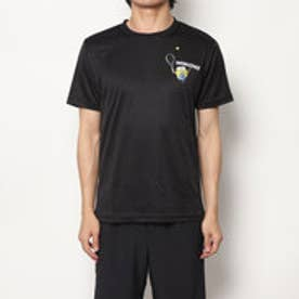 テニス 半袖Tシャツ ミニオンズボブスマッシュドライTシャツ 22833824 (ブラック)
