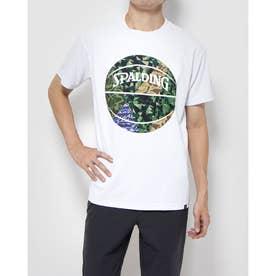 ジュニア バスケットボール 半袖Tシャツ Tシャツ ミックカモボール SMT201100 (ホワイト)