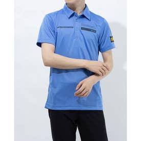 メンズ ゴルフ 長袖シャツ ハンソデシャツ RGMRJA40AP (ブルー)