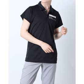 メンズ ゴルフ 長袖シャツ ハンソデシャツ RGMRJA18 (ブラック)