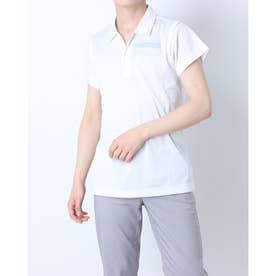 メンズ ゴルフ 長袖シャツ ハンソデシャツ RGMRJA18 (ホワイト)