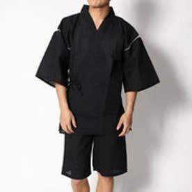 シジラ甚平上下組 (ブラック)