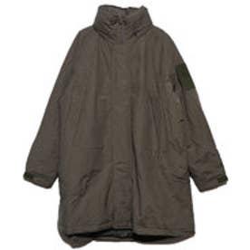 中綿入りダンプルーフビッグジャケット (オリーブ)