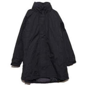 中綿入りダンプルーフビッグジャケット (ブラック)