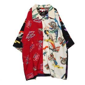 レーヨンビッグアロハシャツ (クレイジー2)