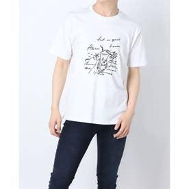 半袖プリントTシャツ (ホワイト)