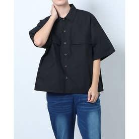 タイプライターCPOシャツ (ブラック)