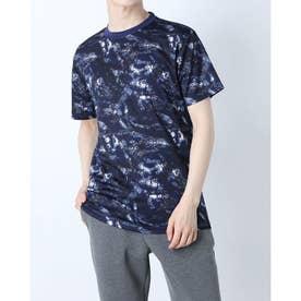 総柄ドライTシャツ (B)