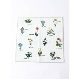 野の花図鑑プリントハンドタオル (生成)