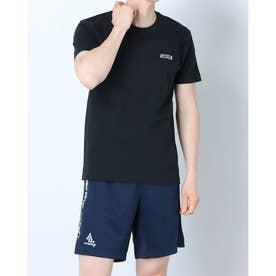 メンズ サッカー/フットサル 半袖シャツ NT CHIBI LOGO Tシャツ 8211-18410 (ブラック)