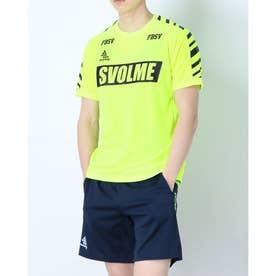 メンズ サッカー/フットサル 半袖シャツ LINE TRトップ 1211-83600 (イエロー)