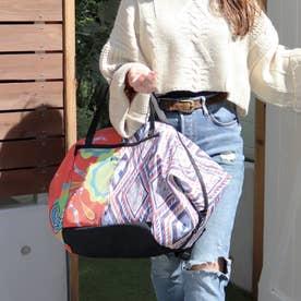 丸洗いできるバッグ 買い物レジかごバッグ (ISLAND)B7118