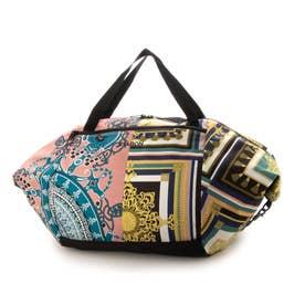 丸洗いできるバッグ 買い物レジかごバッグ (ORNAMENT)B7118
