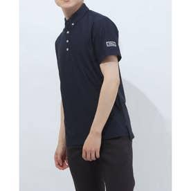 メンズ ゴルフ 半袖シャツ ストライプサッカーシャツ TSMC2116 0353181278 (ネイビー)