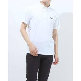 メンズ ゴルフ 半袖シャツ ベンチレーションパフォーマンスシャツ TSMC2111 0353180479 (ホワイト)