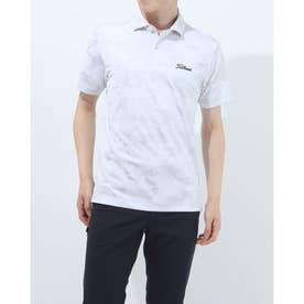 メンズ ゴルフ 半袖シャツ トーナルジャガードシャツ TSMC2112 0353180639 (グレー)