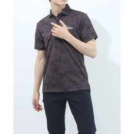 メンズ ゴルフ 半袖シャツ トーナルジャガードシャツ TSMC2112 0353180530 (ブラック)