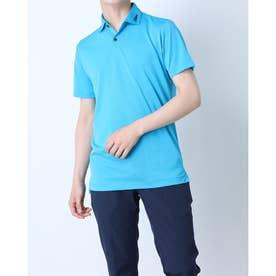 メンズ ゴルフ 半袖シャツ パフォーマンスジャガードシャツ ツアーフラッグシップモデル TSMC2101 0353178582 (ブルー)
