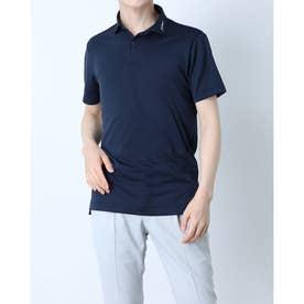 メンズ ゴルフ 半袖シャツ パフォーマンスジャガードシャツ ツアーフラッグシップモデル TSMC2101 0353178636 (ネイビー)