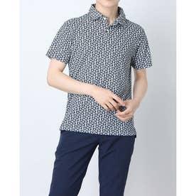 メンズ ゴルフ 半袖シャツ デルタメッシュシャツ TSMC2121 0353182121 (ネイビー)