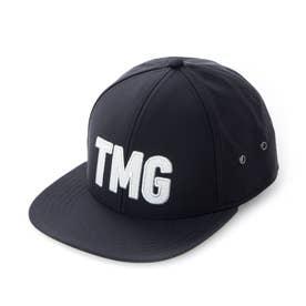 メンズ ゴルフ キャップ LS TMGアジャスタブルハット TA831 (ブラック)