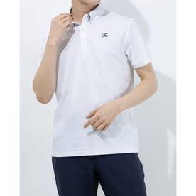 メンズ ゴルフ 半袖シャツ TM ボタンダウン S/S ポロ TB124 (ホワイト)