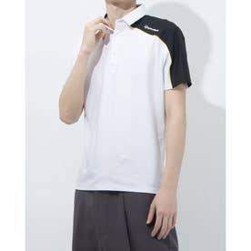 メンズ ゴルフ 半袖シャツ テーラード S/S ポロ TB120 (ホワイト)