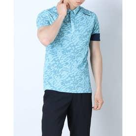 メンズ ゴルフ 半袖シャツ サンドグラフィック S/S ポロ TB139 (ブルー)