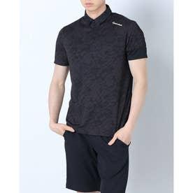 メンズ ゴルフ 半袖シャツ サンドグラフィック S/S ポロ TB139 (ブラック)