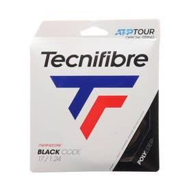硬式テニス ストリング BLACK CODE(ブラックコード)1.24 TFG411