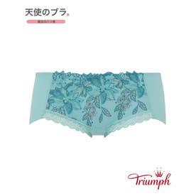 天使のブラ 魔法のハリ感 536 ボーイズレングスショーツ 【返品不可商品】 (ターコイズ)