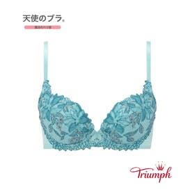 天使のブラ 魔法のハリ感 536 ブラジャー 【返品不可商品】 (ターコイズ)